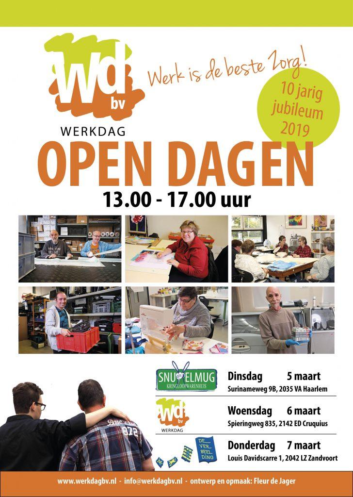 Poster Open dagen Werkdag