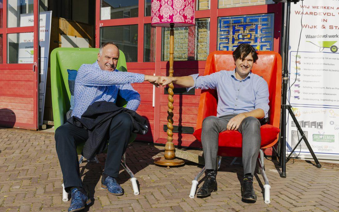 Waardevol 3D Werkplaats geopend door Wethouder Roduner en Bluijs